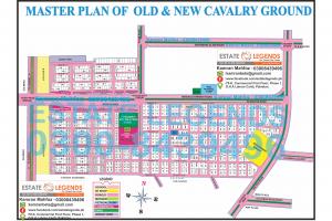 Master Plan of Cavalry Ground