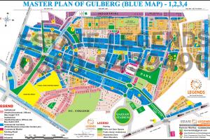 Master Plan of Gulbeg 1.2.3.4