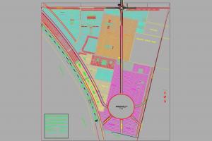 Gwadar New Town Map
