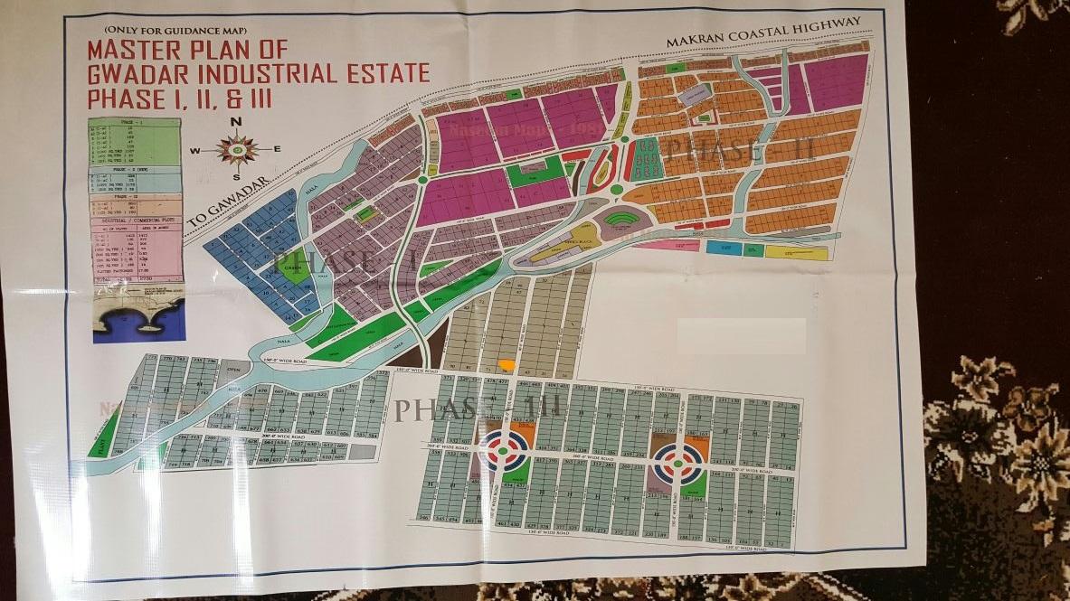 200 sq yards commercial in Gwadar Industrial Estate (GIEDA)