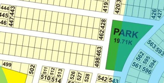 D-450 1 Kanal Plot in DHA Phase 9 Prism D block For Sale