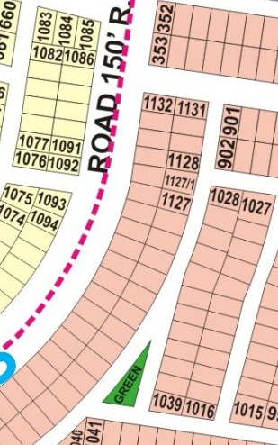 P-1141 9 Prism  All paid 150 Foot Road Plot in Hot price