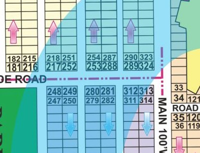 R 323 Phase 7 Plot Near Main Road For Sale