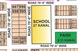 Y998 Hot Location Plot in DHA Phase 7 Near School and Park