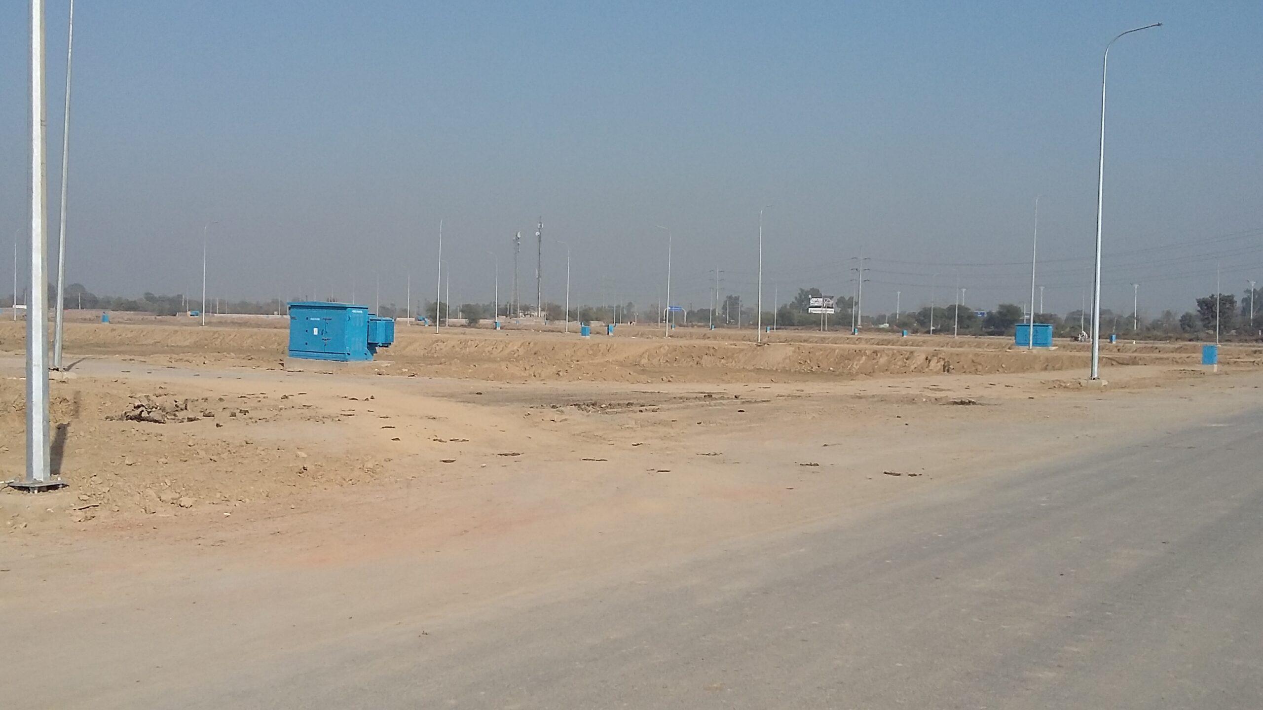 V-957 8 Marla Near Park Plot in DHA Multan