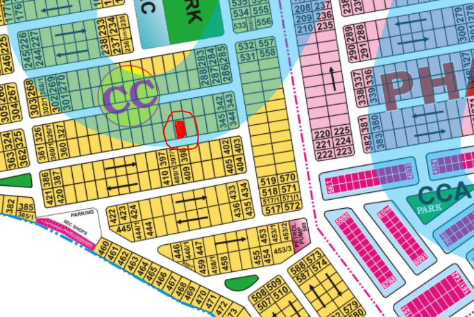 CC 349 1 Kanal Plot Near Park, Mosque and Ghazi Road for Sale at Cheaper rate