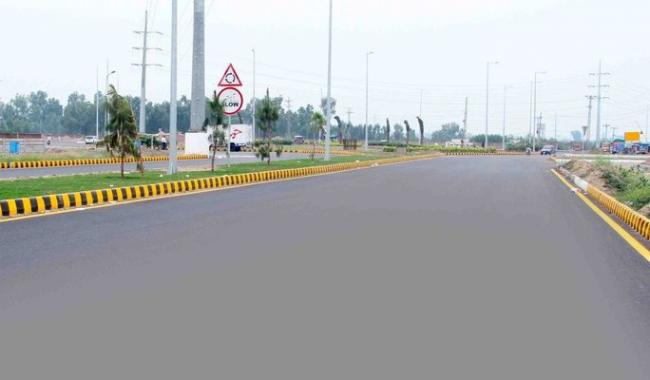 H 75 9 Marla Top Location Plot at Bankers avenue Bedian Road Lahore